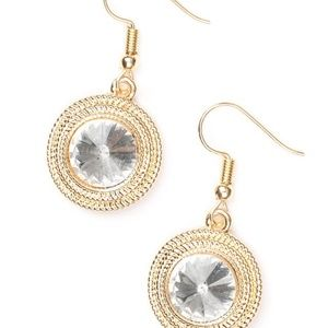 paparazzi Jewelry - Beginners LUXE - Gold Earrings